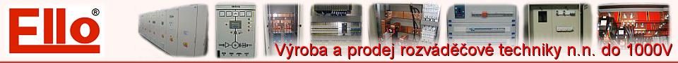 Ello - výroba a prodej rozváděčové techniky n.n. do 1000V